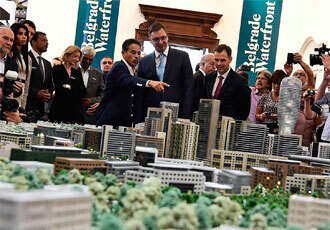 UAE firm to develop Belgrade Waterfront project