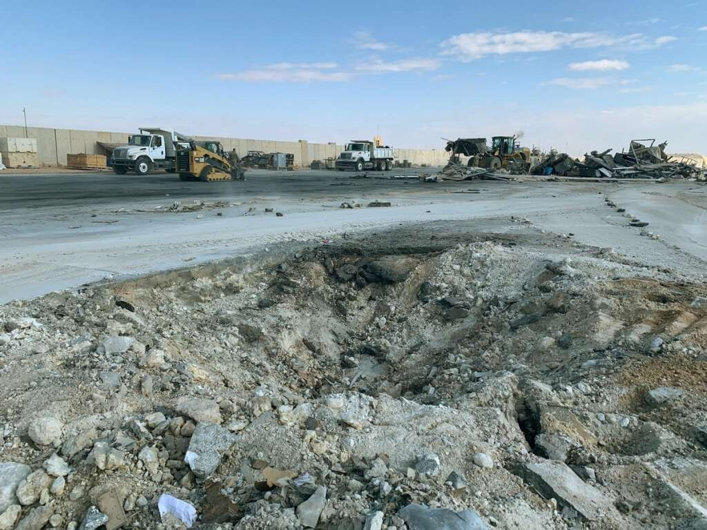 109 troops, suffer, injuries, Iran strike, Pentagon
