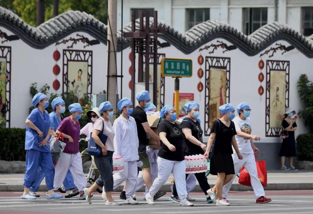 Beijing, Covid cases, Lockdown