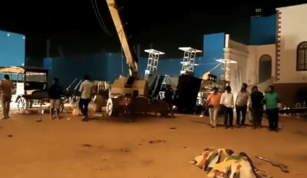 Kamal Haasan, Indian 2, S.Shankar, Chennai, Accident