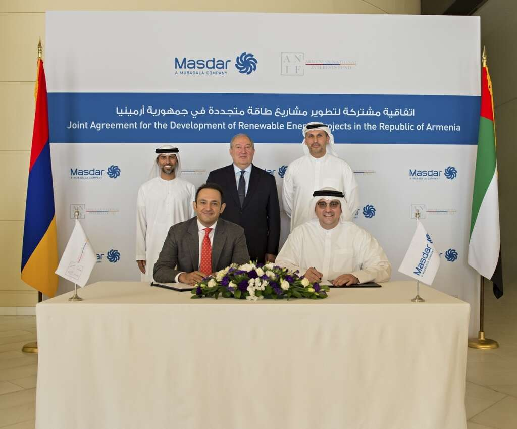 Masdar in 400MW Armenia solar power project