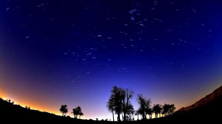 meteor shower, UAE skies