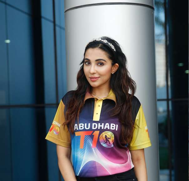 Parvati Nair promotes the T10 League