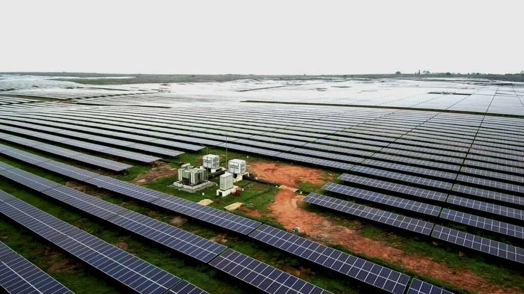 Solar power plant, Largest in Asia
