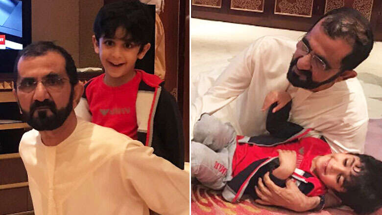 Photos: Dubai Ruler Shaikh Mohammed spends New Year holiday with