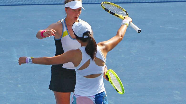 Krejcikova, Saisai, Zheng, czech, republic, dubai duty free, tennis