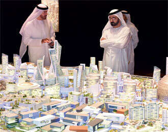 Shaikh Mohammed launches Dubai's air-conditioned city