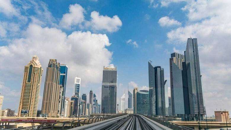 uae, weather, national center of meteorology, partly cloudy, sunny, humid