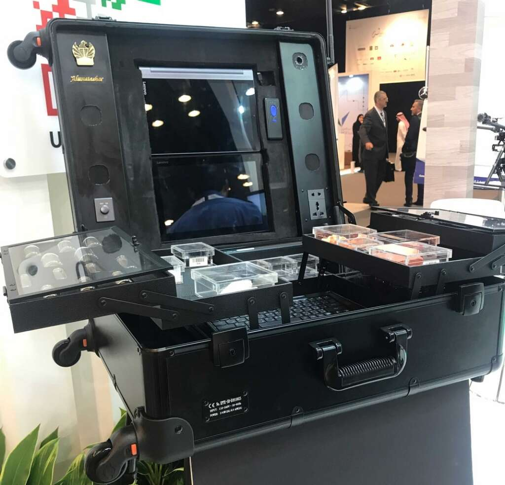 Smart suitcase and special robots with face recognition ability will empower Dubai Customs to secure the country more.