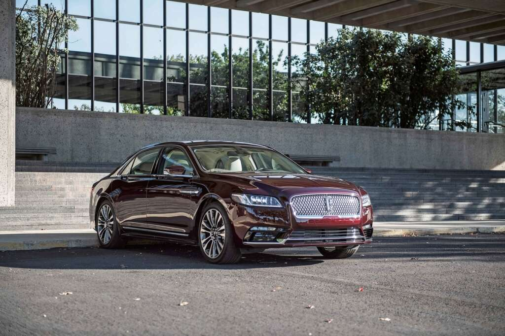 Review: The 2018 Lincoln Continental