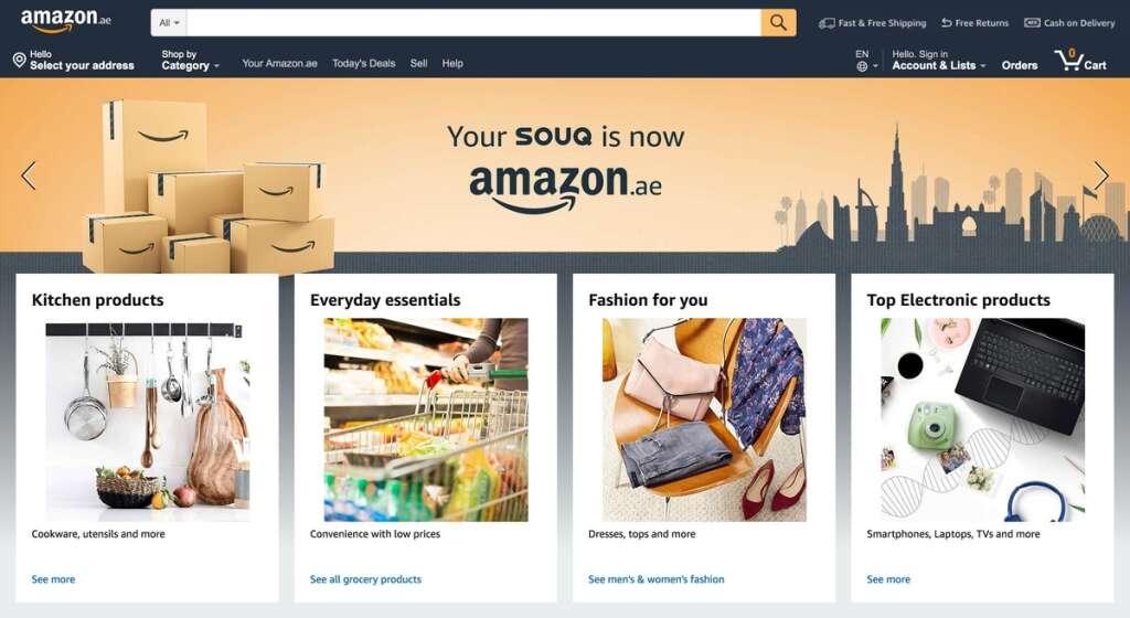 Souq announces launch of Amazon ae - Khaleej Times