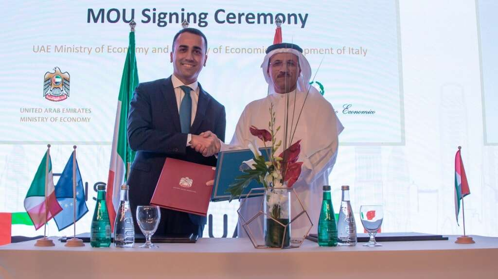 UAE, Italy seek to promote startup, innovation