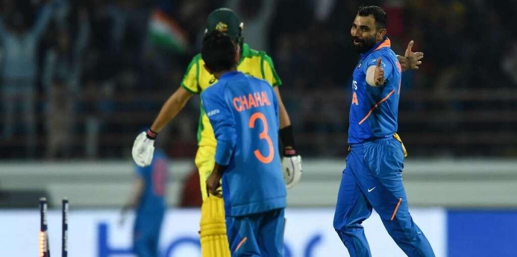India pip Australia to level ODI series