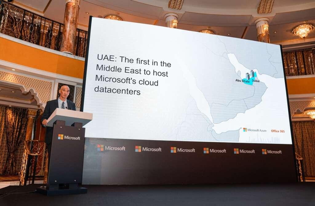 Microsoft's Middle East data centres in Abu Dhabi, Dubai now
