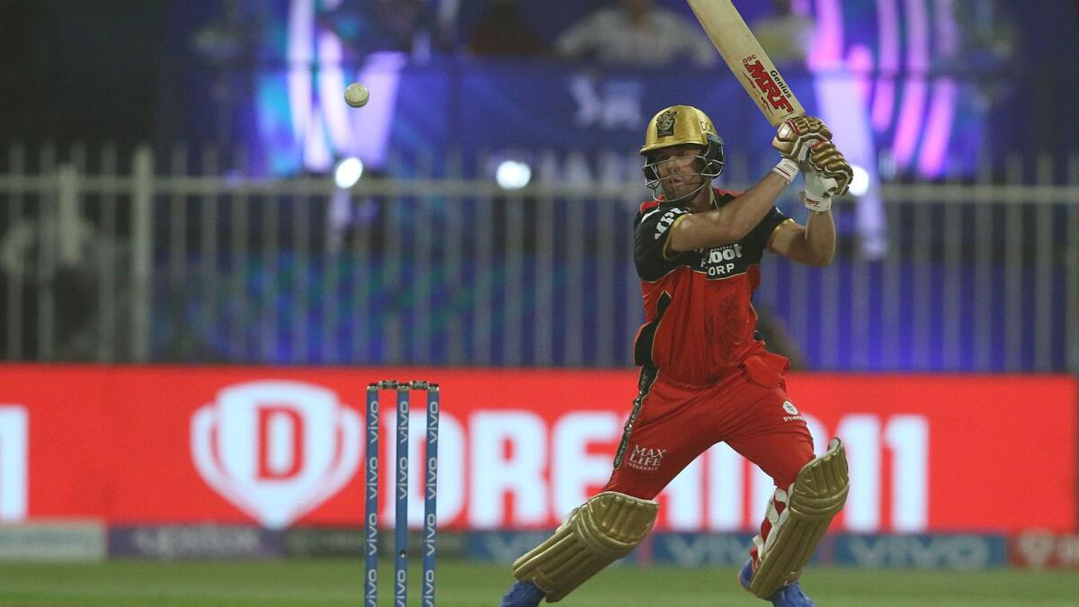 An in form AB de Villiers is crucial to RCB's fortunes going ahead. —BCCI