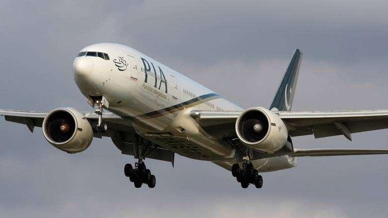 PIA flights, European countries