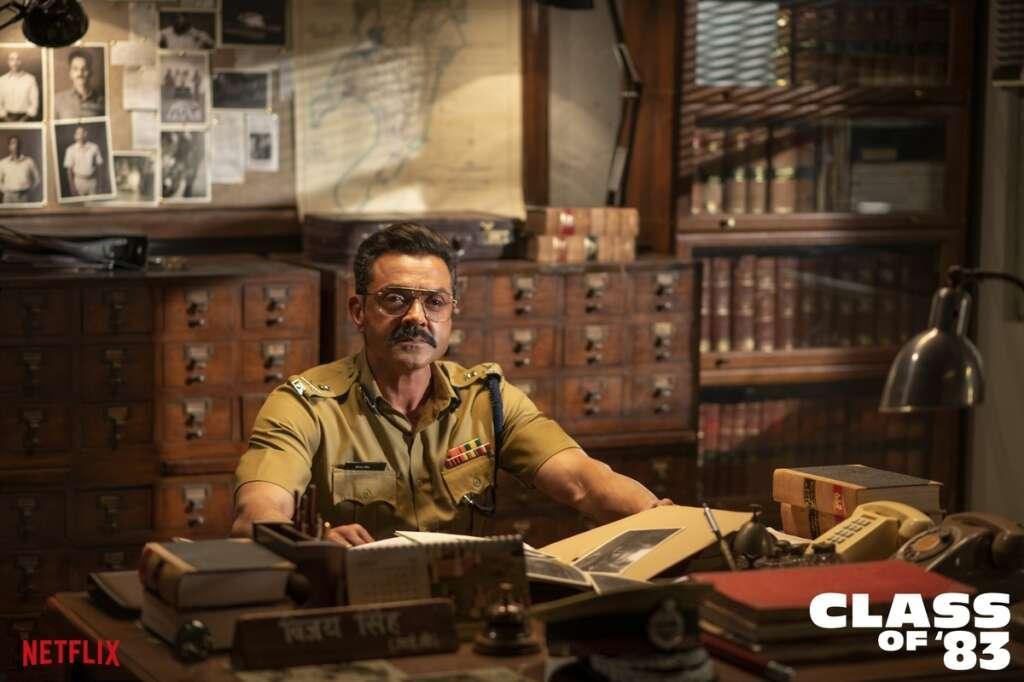 Bobby Deol, class of 83, netflix, S Hussain Zaidi, OTT, Shah Rukh Khan, red chillies, sushant singh rajput, mumbai, cops, Mumbai Police, Atul Sabharwal