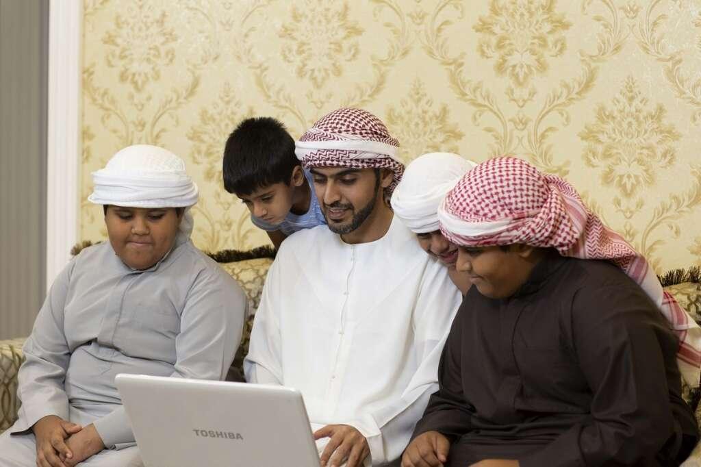 coronavirus, covid-19, UAE, abu dhabi, education, e-learning, Internet, broadband, connection, remote schooling, Yahsat, satellite, Jameela Al Muhairi, Masood M. Sharif Mahmood