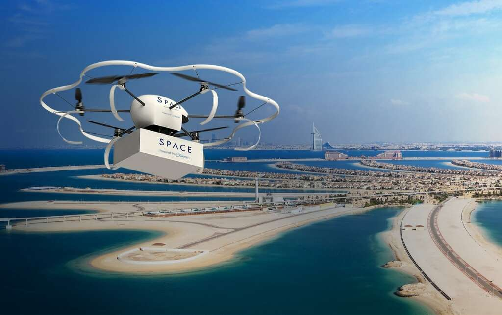 Drone delivery in UAE coming soon