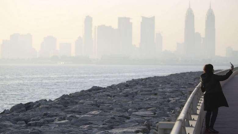 Lowest temperature in UAE today: 17.5 degrees