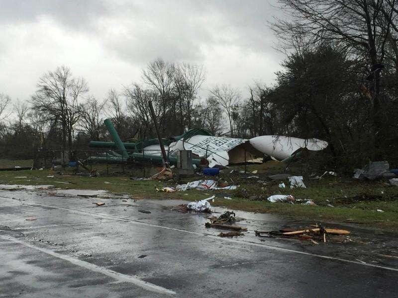 tornadoes, Mississippi
