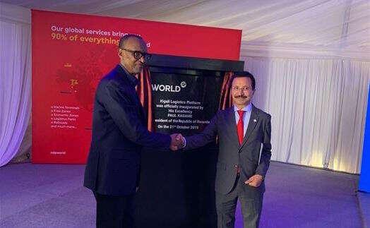 DP World inaugurates Kigali logistics platform