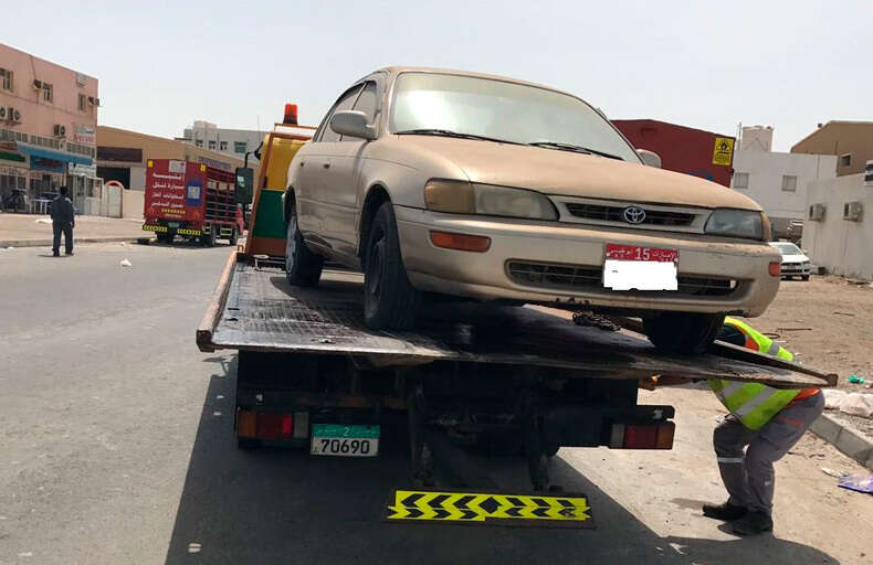 Over 140 abandoned cars seized in Abu Dhabi