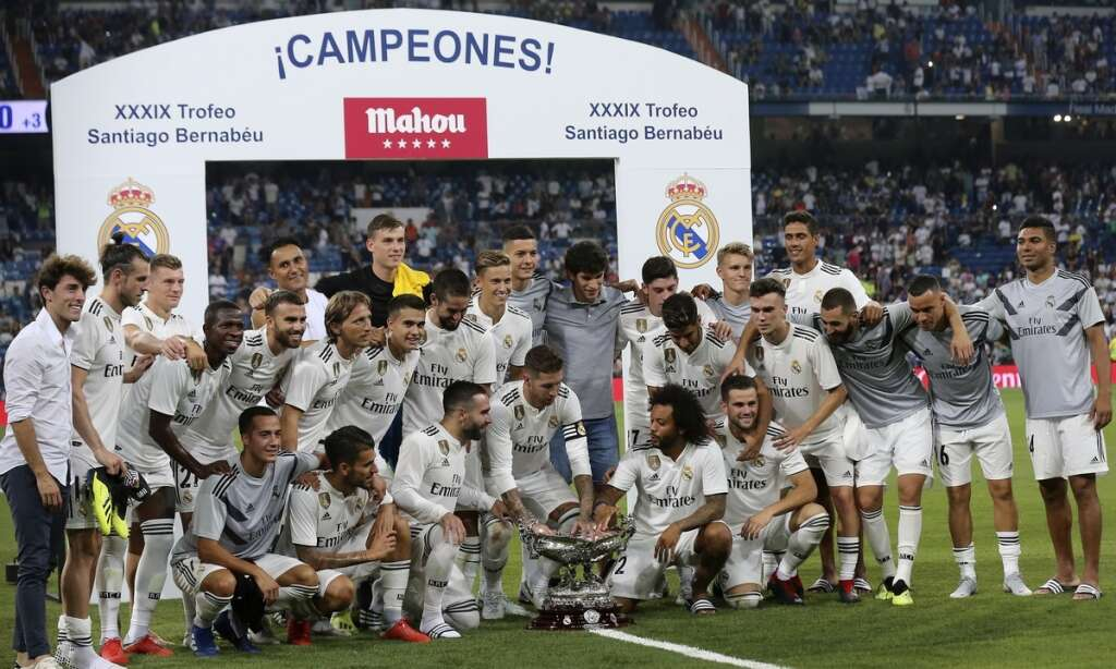 Post-Ronaldo first Real test for Madrid