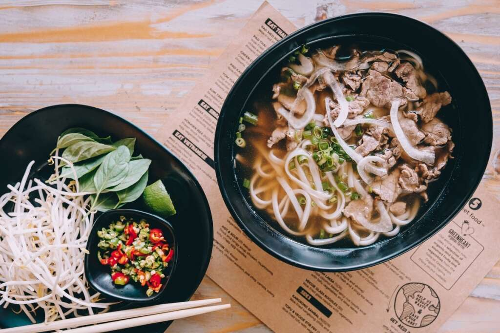 South East Asian flavours come alive here