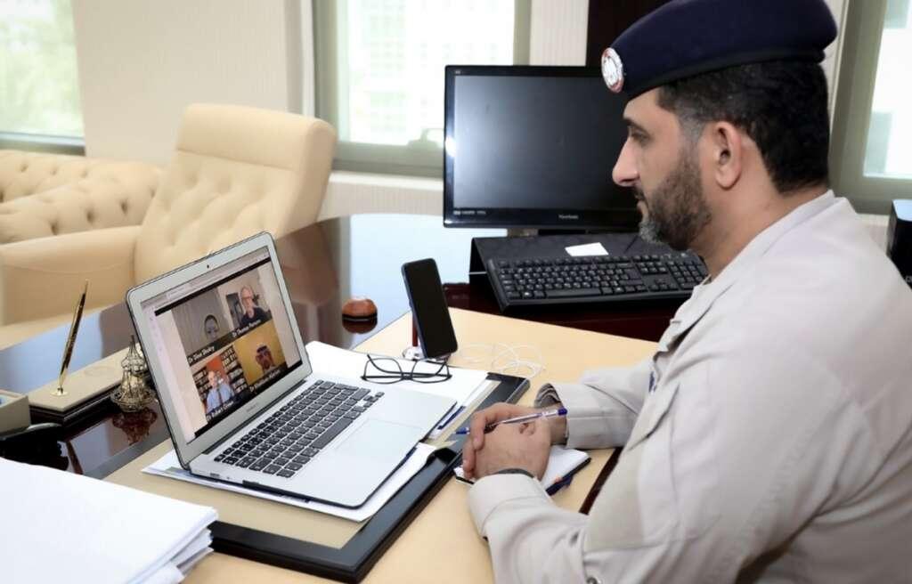 Abu Dhabi Police, Covid-19, coronavirus