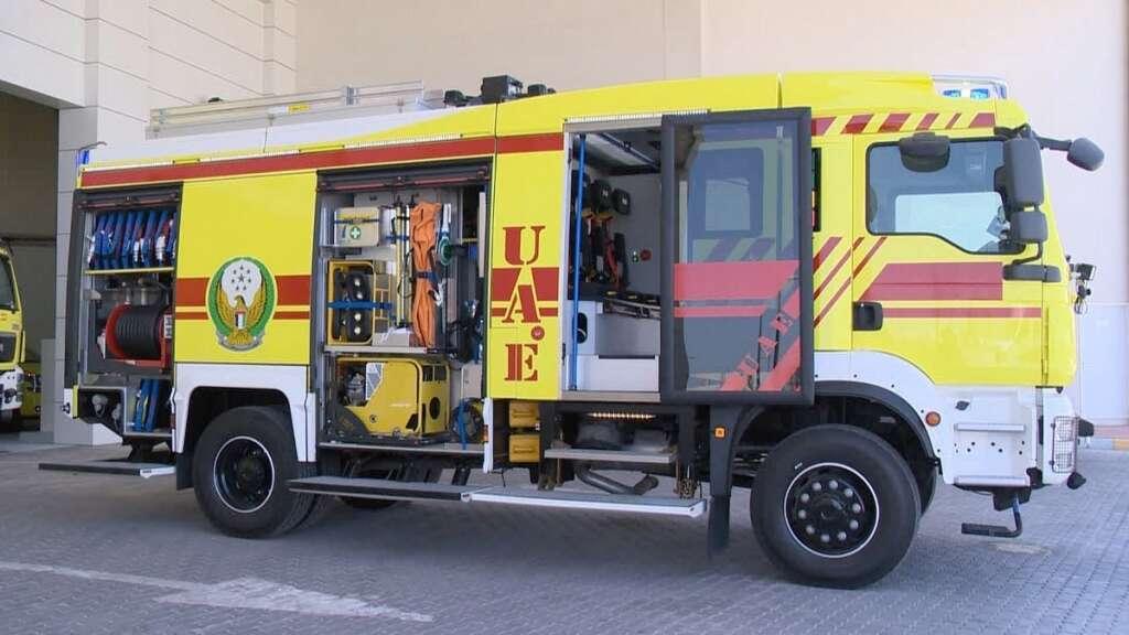 firefighting, firefighters, civil defence, Abu Dhabi, UAE, technology