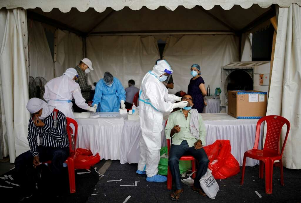 Coronavirus infection, Delhi residents