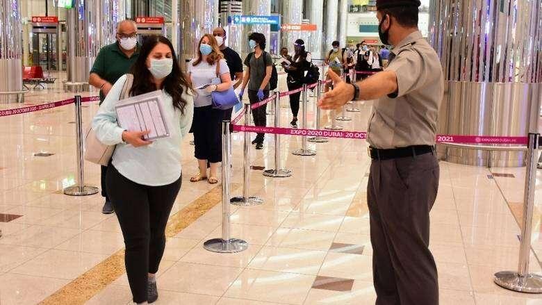 Negative, Covid-19, PCR test, result, must, returning, UAE residents