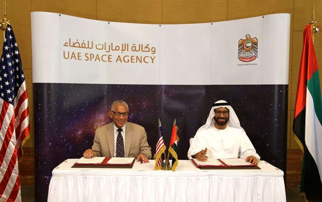 UAE, Nasa ink agreement to explore Mars, outer space