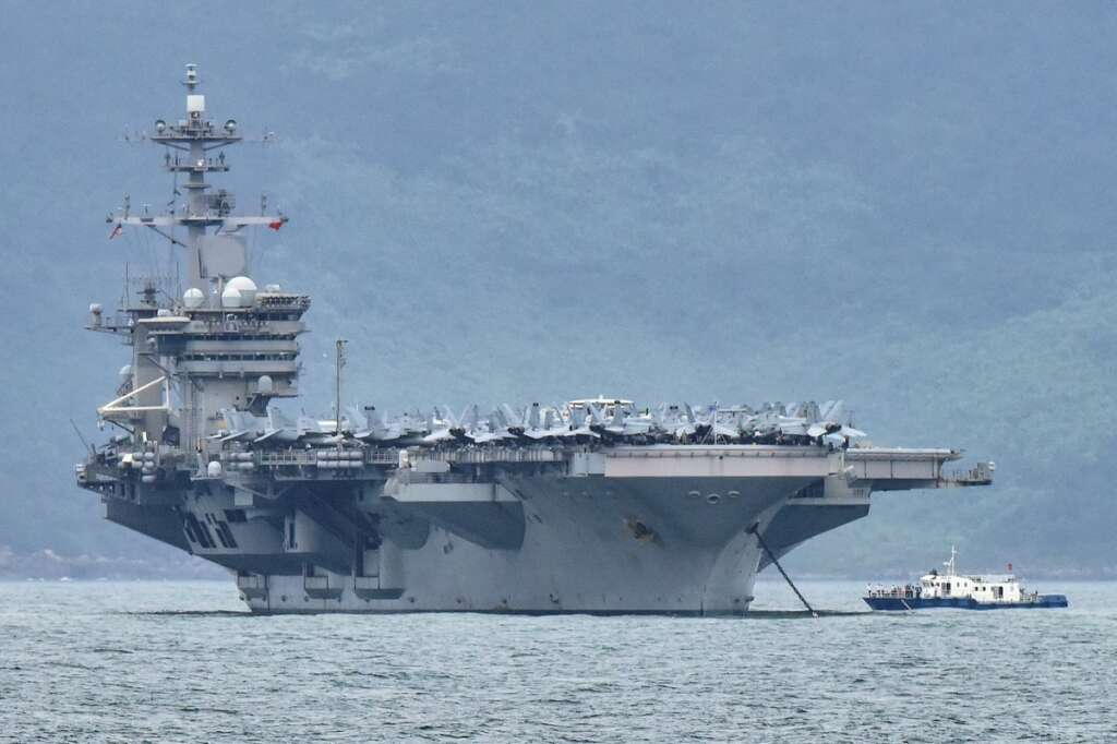 US Navy, USS Theodore Roosevelt, Guam, John Menoni, United States, coronavirus, Covid-19
