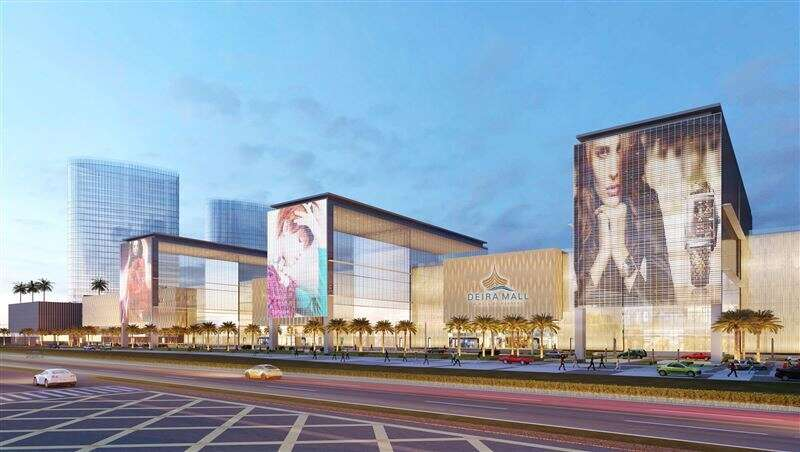 New Dh4 2b Dubai mega mall to be Middle East's biggest