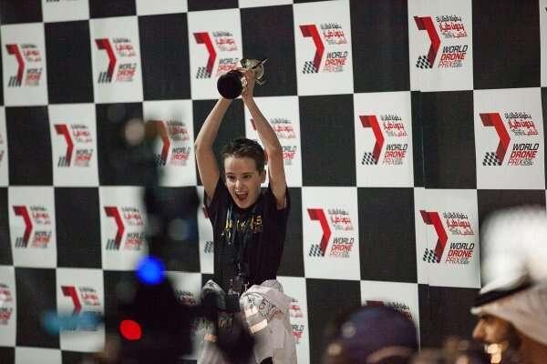 15-year-old pilot wins Dubais World Drone Prix