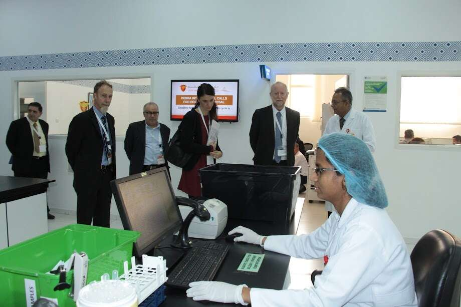 Healthcare research delegation visits Gulf Medical University
