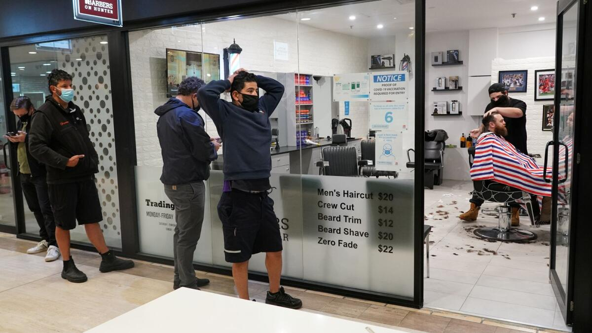Covid-19: Sydney reopens as Australia looks to live with virus