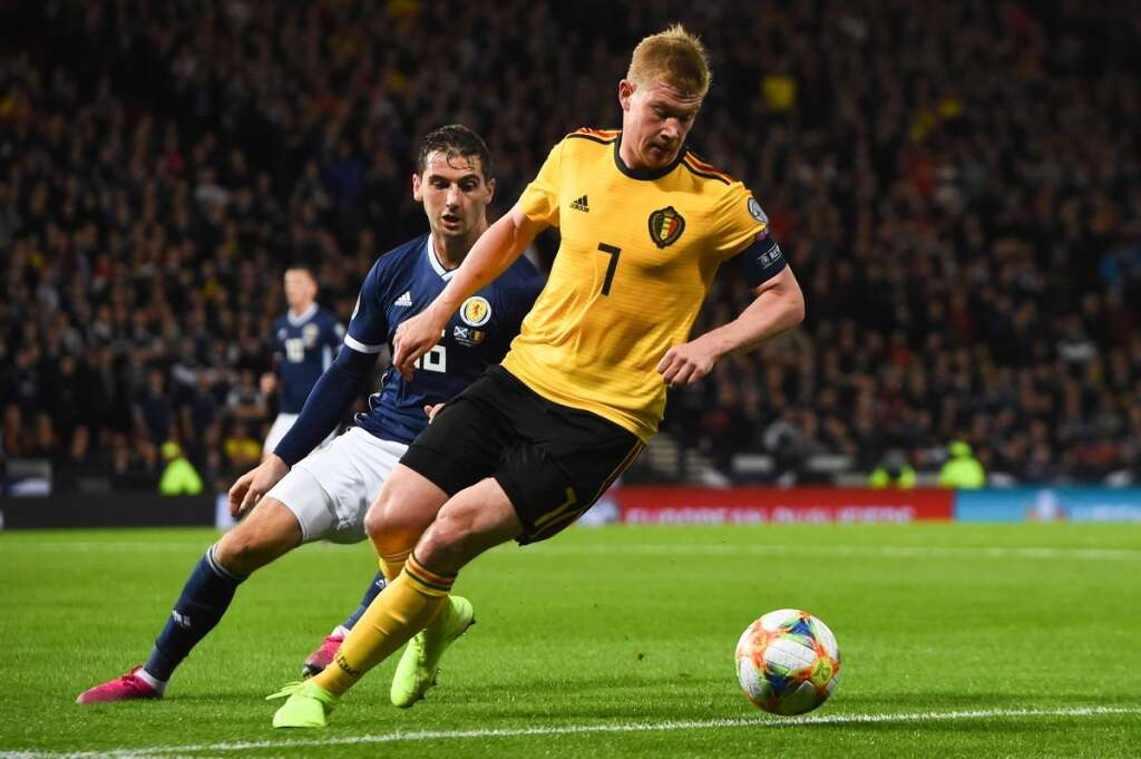 best loved a60ad ba1f6 De Bruyne the world's best playmaker, says Martinez - News ...