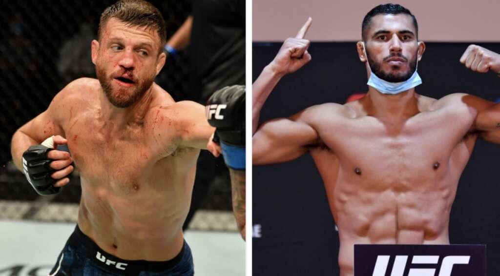 Mounir Lazzez,  UFC debut, UFC,Fight Island, Abu Dhabi