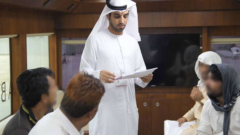 UAE mobile court makes employer pay workers salaries on the spot