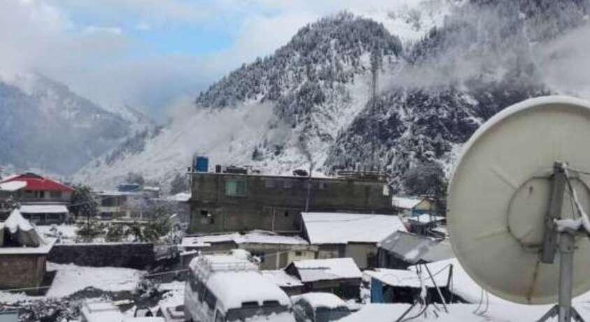 Galayat valleys, winter season, snowfall, snow in Pakistan