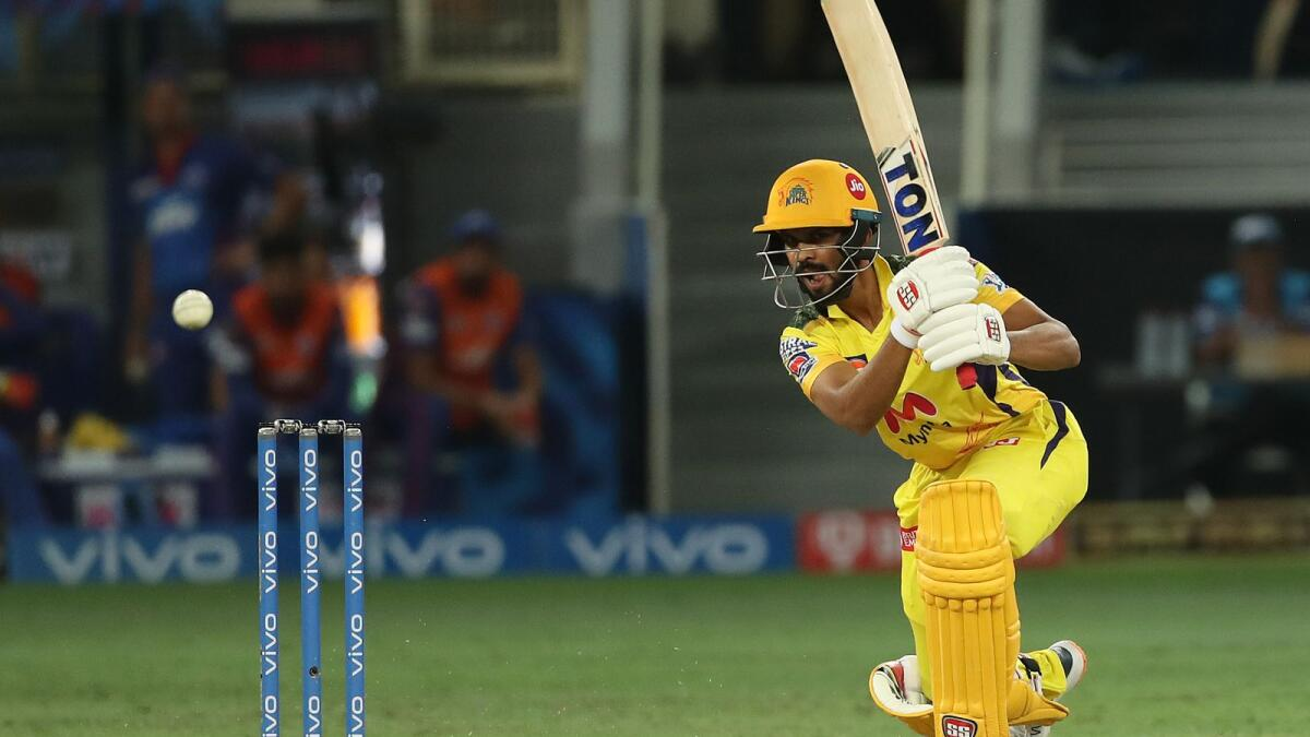 Ruturaj Gaikwad of Chennai Super Kings has illuminated the IPL with his exquisite shot-making. (BCCI)