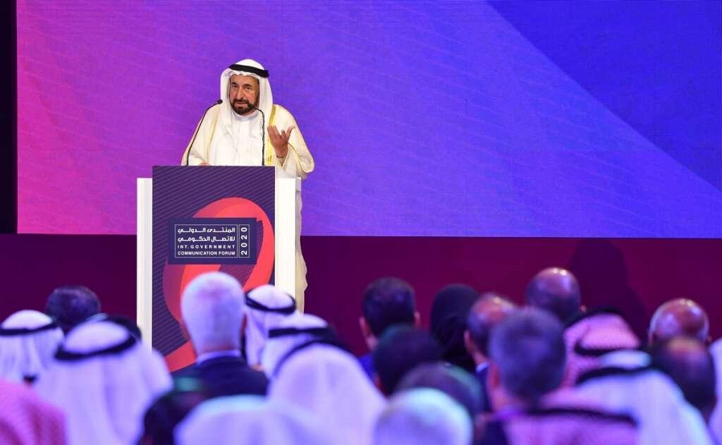 IGCF 2020, Sharjah, Sharjah Ruler, His Highness Sheikh Dr Sultan bin Muhammad Al Qasimi,