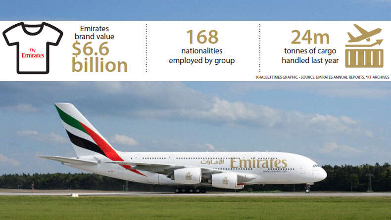Emirates is the fastest growing airline in the world