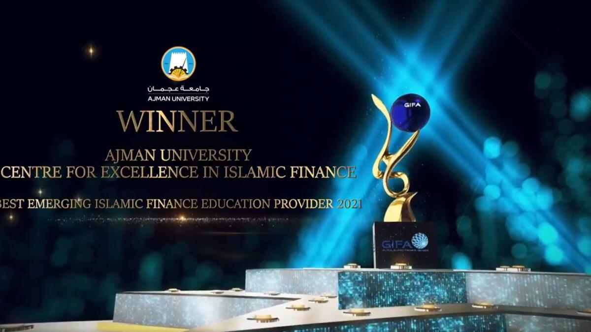 Ajman University and faculty bag Global Islamic Finance Awards