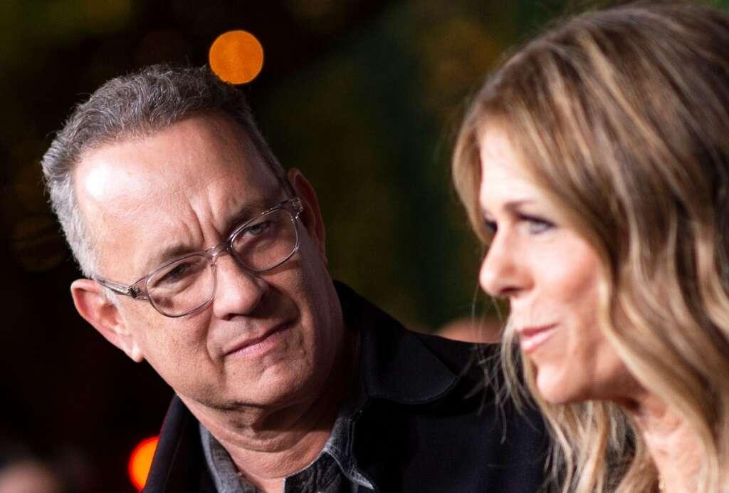 Tom Hanks, wife Rita Wilson, coronavirus, Australia