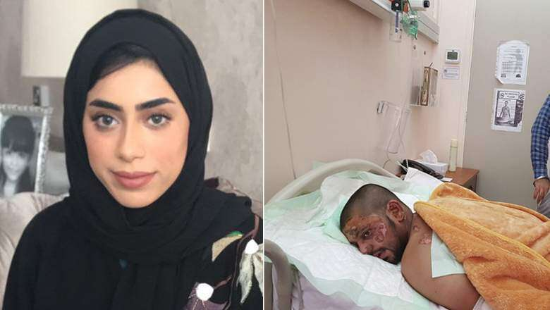 exclusive interview with emirati woman who saved man with