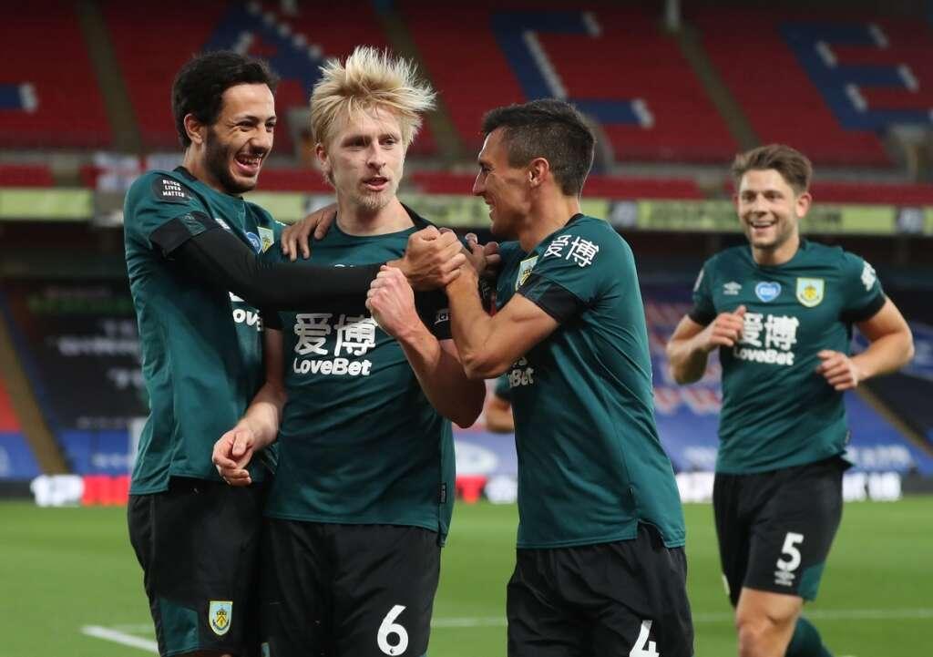 Burnley, 1-0, win, Crystal Palace, Ben Mee, captain, header, Premier League, London, England